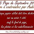Dt page septembre creablablablog + 2 cartes