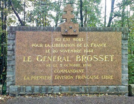 Monument Général Brosset Champagney