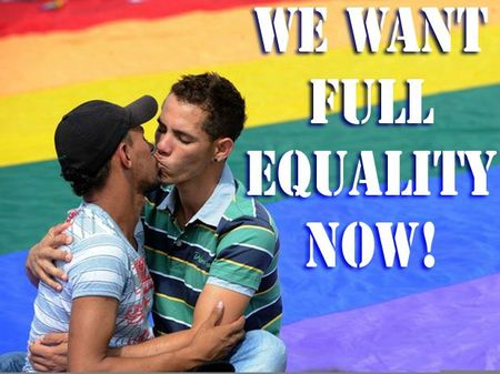 we want full equality