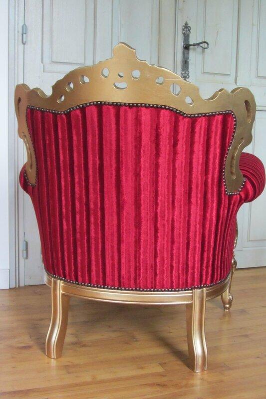 fauteuil capitonné tapissier côté sièges Bohars
