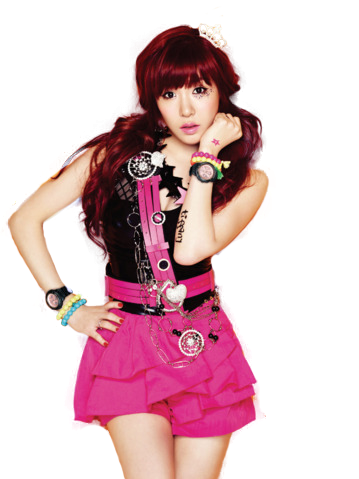 tiffany__snsd__casio_baby_g__png__render__by_sellscarol-d5s8vg3