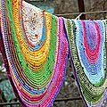 Des tapis au crochet