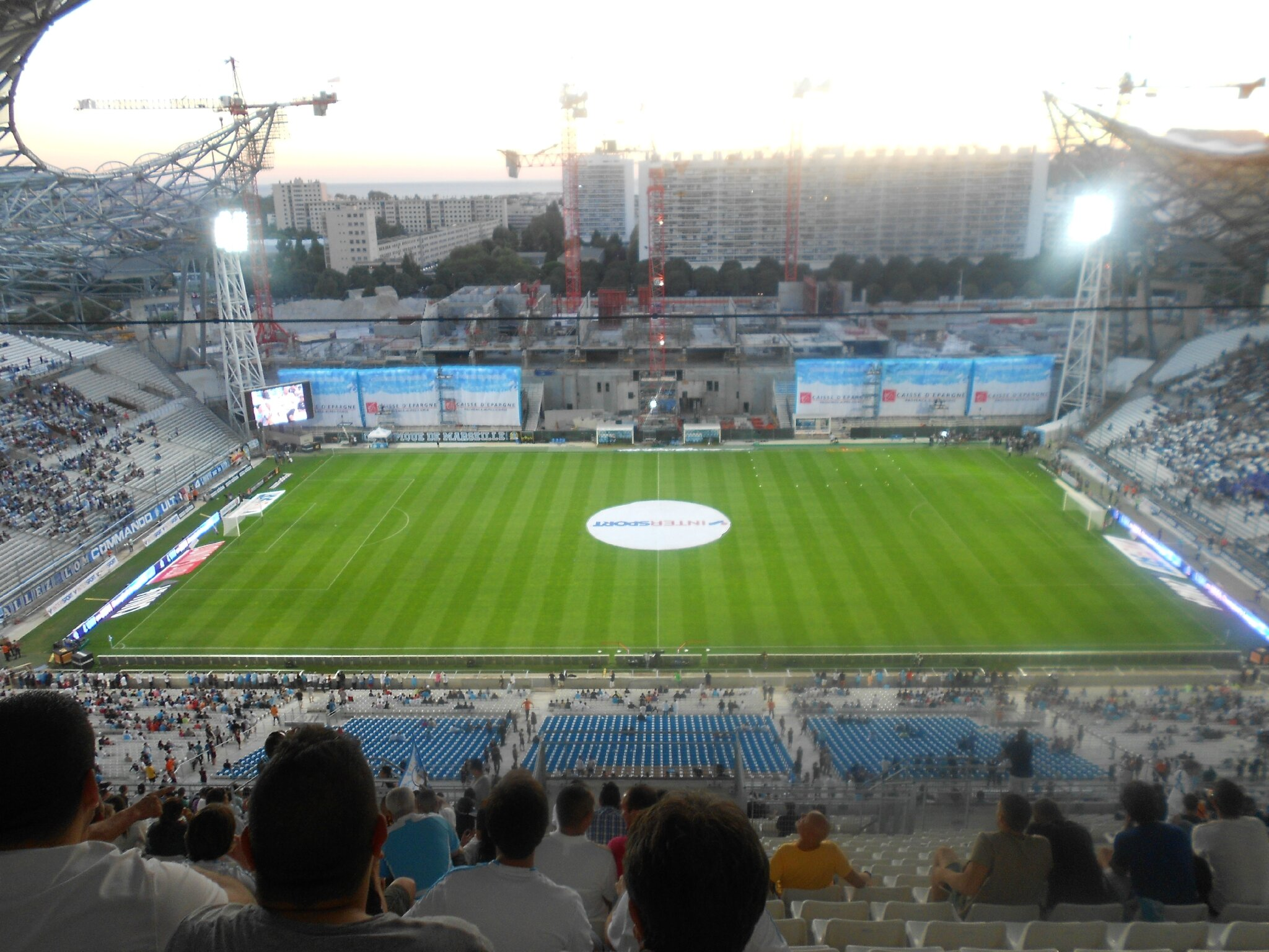 On y tait marseille monaco 01 09 13 eleven for Porte 7 stade velodrome