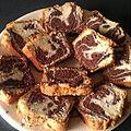 Cake marbré de felder