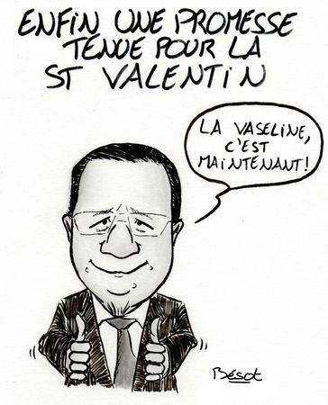 Hollande Saint Valentin - FoutouArt - Bésot