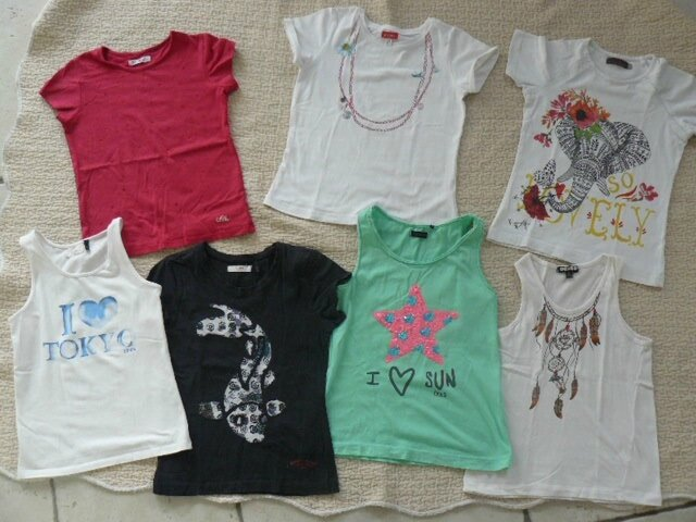 8ans fringues kids ( jupe pepe 10A et diesel taille7) 161