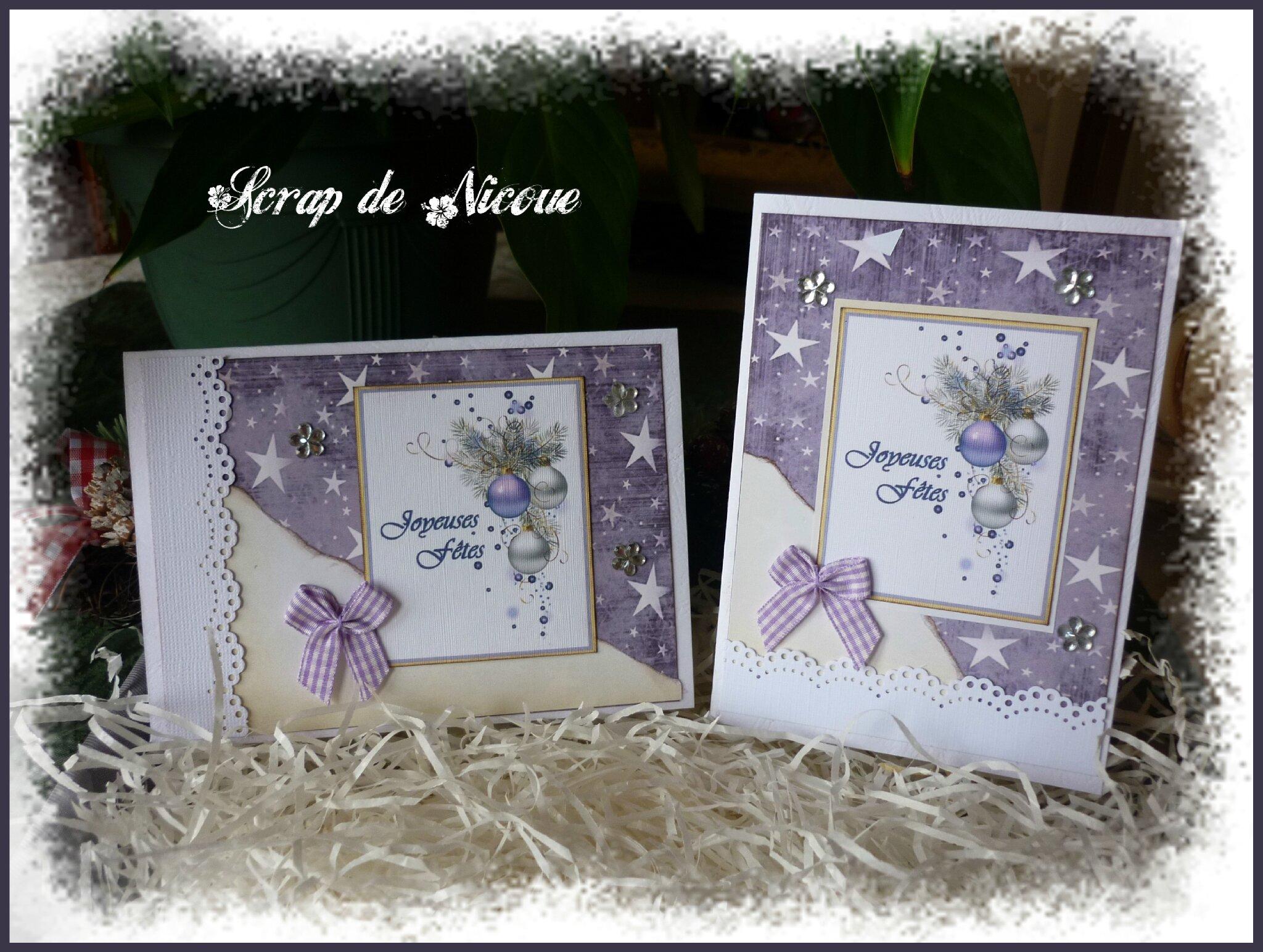 Inspiration aux tonalités violettes pour les fêtes ...