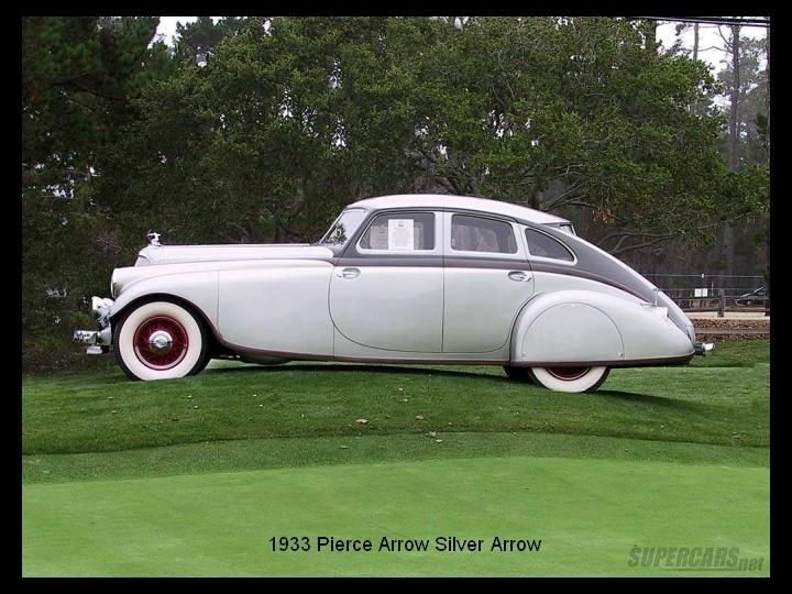 1933 - Pierce Arrow sSlver Arrow.