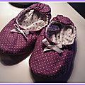 Petites ballerines pour petits pieds...