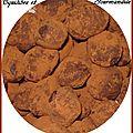 Truffes au chocolat, recette de mamie