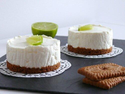 Cheesecake citron vert
