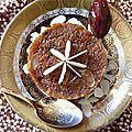 Gâteau indien à la carotte et la cardamome, la carotte version confite et sucrée