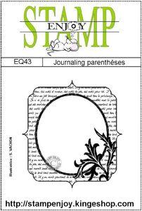 EQ43-journaling parenthèses -sachet 8 x 12