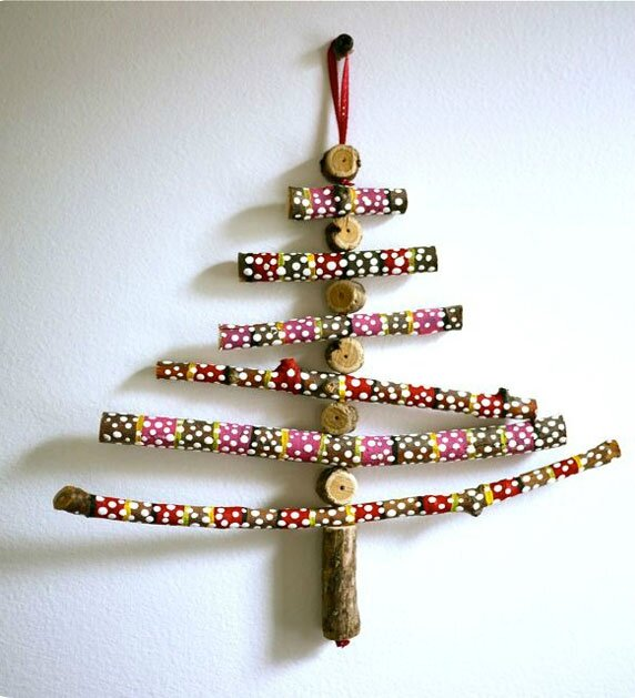 Sapin de no l diy pitimana le blog - Sapin de noel diy ...