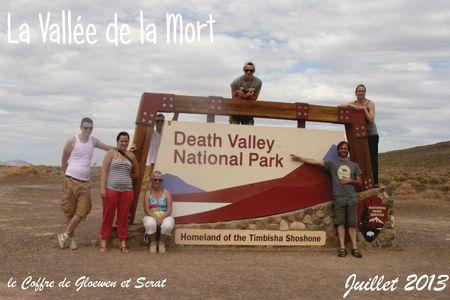 Photo de groupe dans la vallée de la mort chez gloewen et scrat