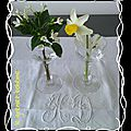 compo verre cristal et fleur 7