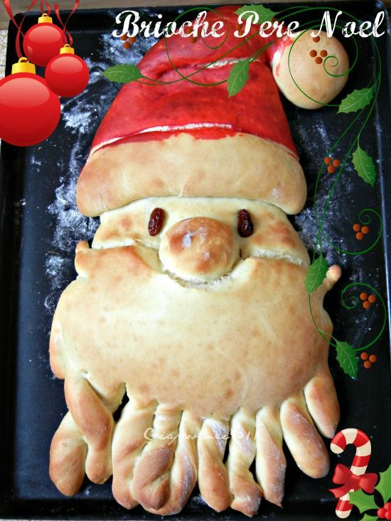 brioche pere noel