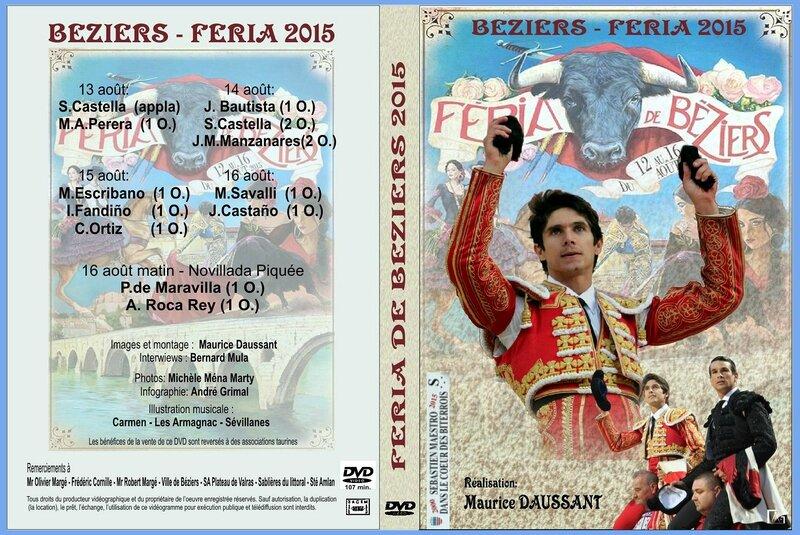 JAQUETTE DVD Feria 2015 N°3