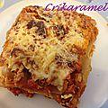 Lasagnes aux courgettes, carottes, bacon et blanc de dinde