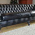 Le canapé chesterfield baroque