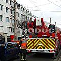 Trois blessés légers dans un incendie d'appartement à noisy-le-sec