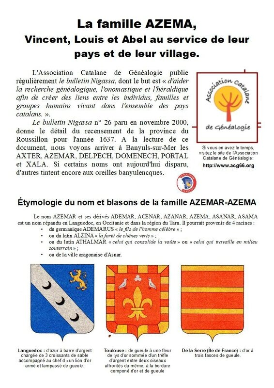 7) Famille Azema - Page 1