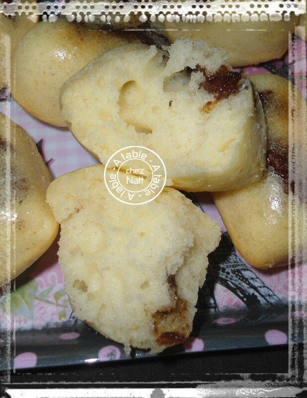 muffins au elben et chocolat à la pralinoise 2