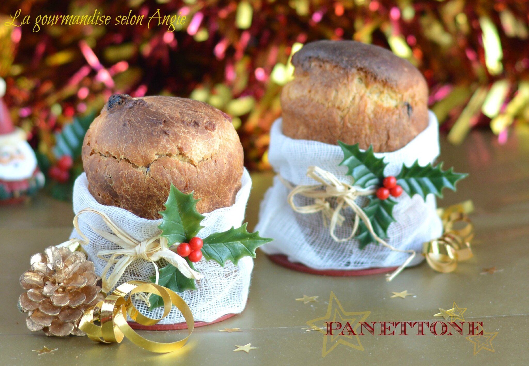 mini panettone cadeau gourmand pour no l la gourmandise selon angie. Black Bedroom Furniture Sets. Home Design Ideas