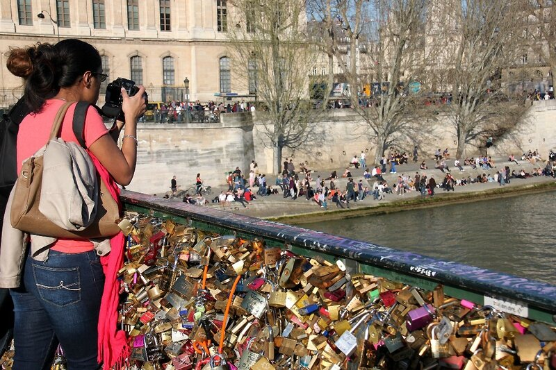1-Photographe, Pont des Arts_2309
