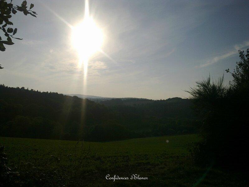 Soleil à l'ouest
