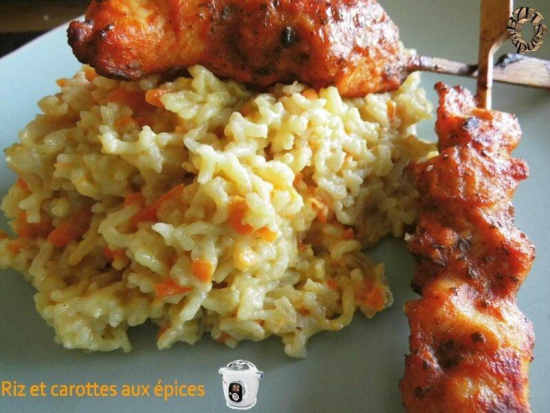 0524 Riz et carottes aux épices 2