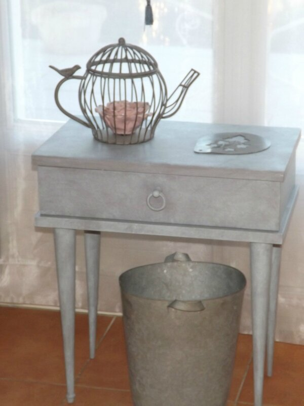 Table de nuit zinc (7)