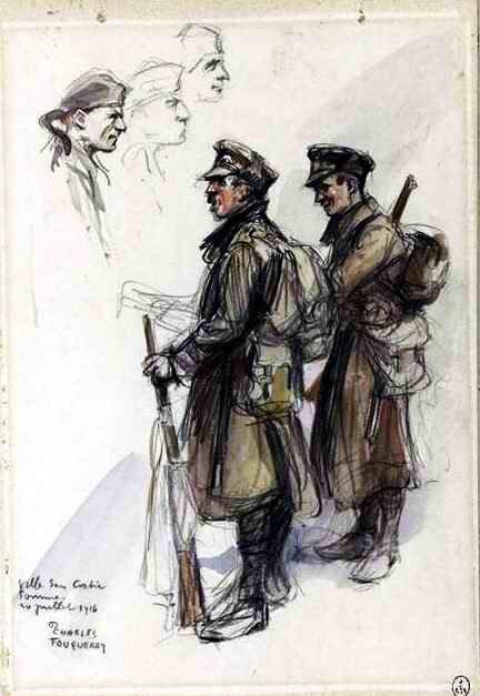 Soldats anglais 20 07 1916