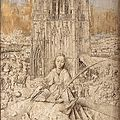Jan van eyck, saint barbara, 1437