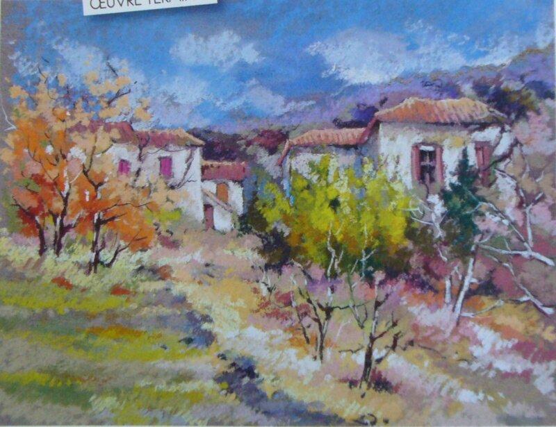 Causse essai pas a pas peinture l 39 huile pastel sec graphite for Peinture pastel gras