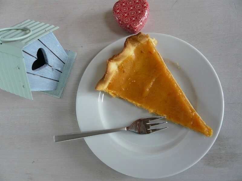 tarte a l'orange sanguine