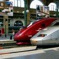 Les TGV: Sud-Est, Thalys et Eurostar