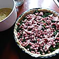 Quiche jambon épinards