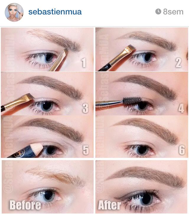 Bien-aimé Les sourcils, et mon évolution en image avec différents produits  JI73