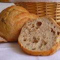 Petits pains a la farine de chataigne corse