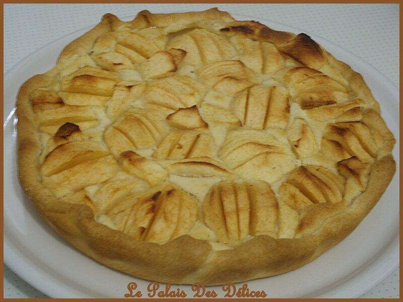 Tarte aux pommes frangipane b