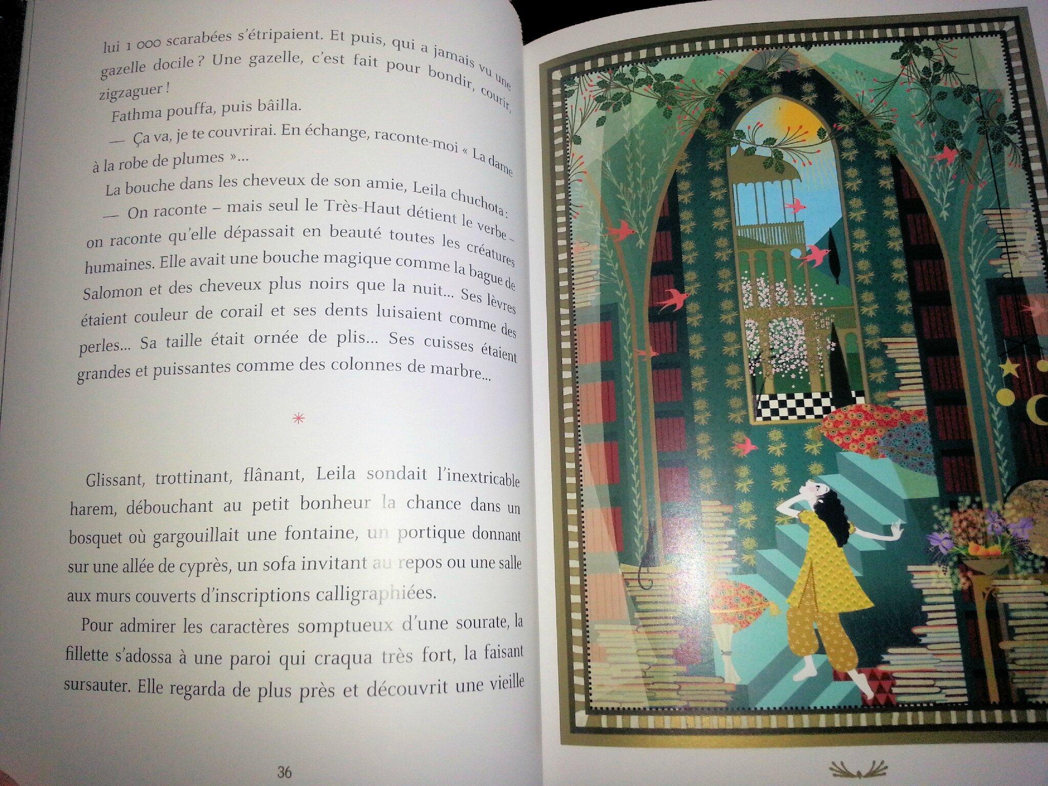 L'odalisque et l'éléphant extrait Hachette jeunesse