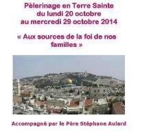 Bulletin d-inscription Terre Sainte 2014 face bis