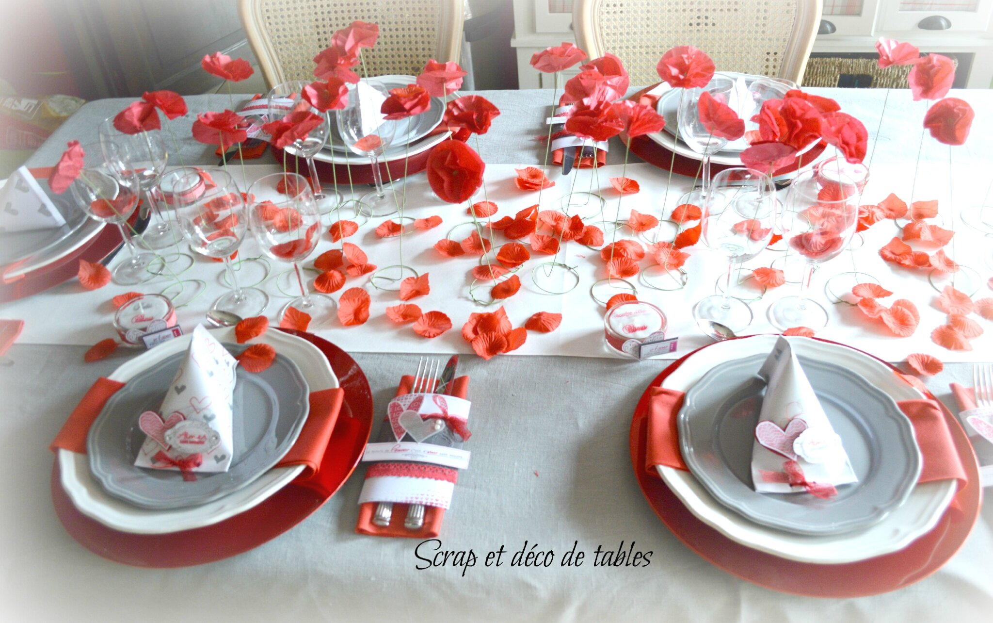 Table Saint Valentin à deco de table saint-valentin 2015 - scrap et déco de tables