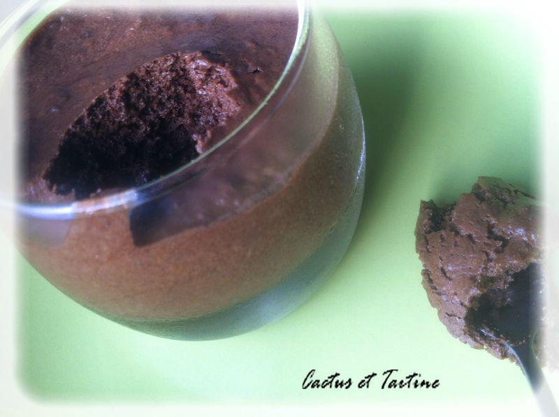 mousse chocolat noix de coco