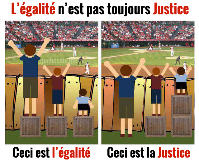 cela est la justice