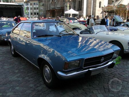 Opel rekord d 1900 automatic coupe 1972 1977 Festival Automobile de Mulhouse 2011 1