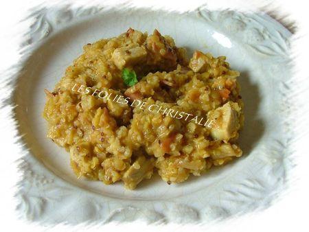 Lentilles corail et quinoa au curry 5