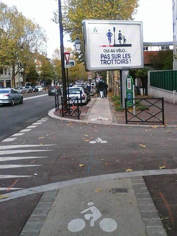affiche trottoirs a