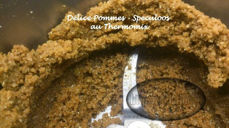 Delice pommes speculoos thermomix 3